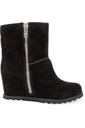 Marc By Marc Jacobs Suede Boots Black