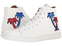 Marc Jacobs Canvas Palm High Top White