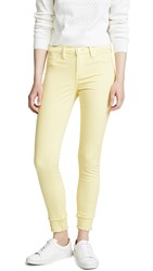 Blank Denim The Reade Cropped Midrise Skinny Jeans Sunny Spot