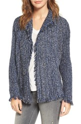 Velvet By Graham And Spencer Women's Melange Knit Cardigan