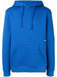 Soulland Logic Wallance Hoodie Blue
