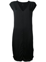 Thom Krom Shift Dress Women Viscose S Black