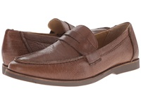 Sebago Norwich Penny Brown Bison Leather Men's Shoes