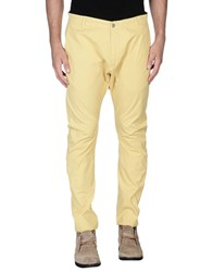 Hamaki Ho Trousers Casual Trousers Men Yellow