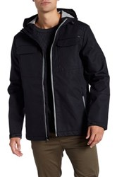 Tavik Focal Waterproof Hooded Jacket Black