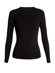 Falke Long Sleeved Performance T Shirt Black