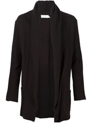 Knomadik By Daniel Patrick Draped Cardigan Black