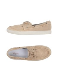 Armani Jeans Loafers Sand