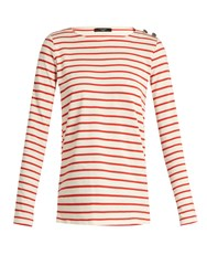 Max Mara Rabbino Top Red Stripe