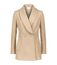 Reiss Malika Shawl Collar Coat Female Camel