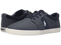 Polo Ralph Lauren Halmore Ii Denim Chambray Herringbone Sport Suede Men's Shoes Black