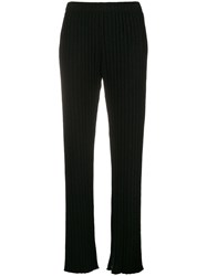 Simon Miller High Waisted Loose Trousers E Black