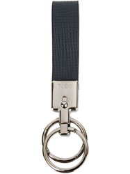 Tod's 'Vallet Parking Classic' Keyring Blue