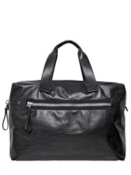 Lanvin Big Nappa Leather Bowling Bag