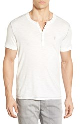 Men's John Varvatos Star Usa Peace Sign Henley