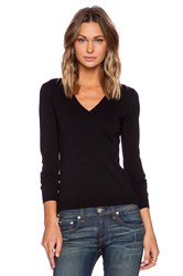 525 America V Neck Sweater Black