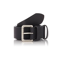 Felisi Numbered Leather Belt Black