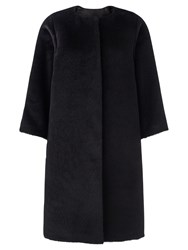 Jigsaw Ava Evening Coat Black