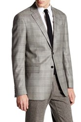 Todd Snyder Check 2 Button Trim Fit Sport Coat Green