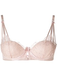 Parah Lace Embroidered Bra Pink And Purple