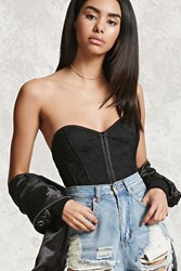 Forever 21 Sweetheart Lace Tube Top