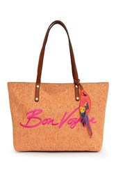 Tommy Bahama Parrot Bay Embroidered Tote Bag Sunset