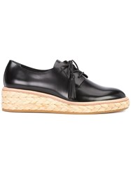 Loeffler Randall Callie Lace Up Shoes Black