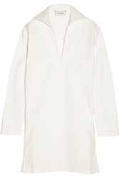 Lemaire Cotton And Linen Blend Gabardine Tunic