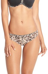Women's Chantelle Intimates 'Merci' Tanga Thong Liberty Print