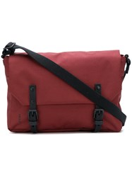 Ally Capellino Jeremy Small Ripstop Messenger Bag Red