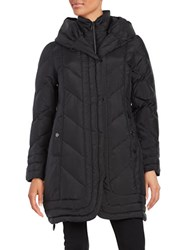 Gallery Hooded Down Coat Black