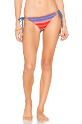 Seafolly Hipster Tie Side Bottom Red
