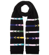 Barrie Cashmere Scarf Black