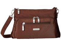 Baggallini Everyday Bagg Mocha Cross Body Handbags Brown