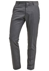 Selected Homme Shdone Tax Cash Suit Trousers Medium Grey Melange Light Grey