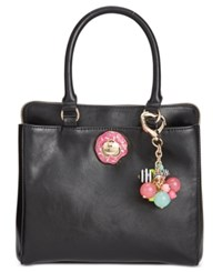 Betsey Johnson Triple Donut Satchel A Macy's Exclusive Style Black