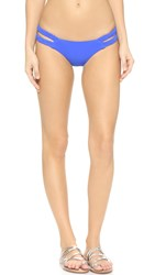 Rocky Barnes X Vitamin A Braid Bikini Bottoms Eco Azure Blue