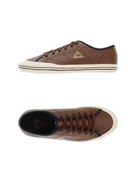 Le Coq Sportif Footwear Low Tops And Trainers Women Brown