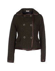 Roy Rogers Roy Roger's Coats And Jackets Jackets Women Military Green