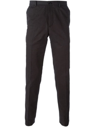 Carven Slim Chino Trousers Black