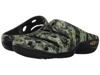Keen Yogui Arts Camo Green Women's Clog Shoes Multi