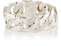 Ann Dexter Jones Women's Heavy Buckle Bracelet Silver