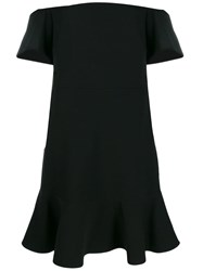 Michael Michael Kors Off The Shoulder Dress Black