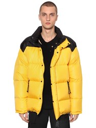 Ambush Reversible Color Block Down Jacket Yellow