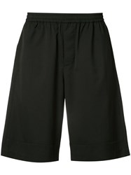 Stampd Elasticated Waistband Track Shorts Men Cotton Xl Black