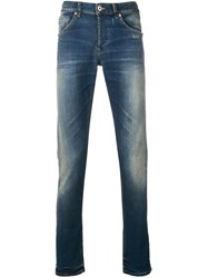 Dondup Mid Rise Skinny Jeans Blue