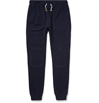 Band Of Outsiders Cotton Jersey Sweatpants Blue