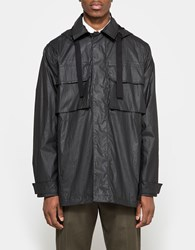 Our Legacy Artillery Parka Coated Black