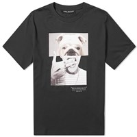 Neil Barrett Bulldog Man Tee Black