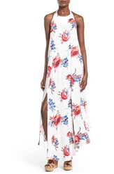 Women's Somedays Lovin 'True Romance' Floral Print Halter Maxi Dress